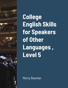 College English Skills for Speakers of Other Languages. Front cover of book.