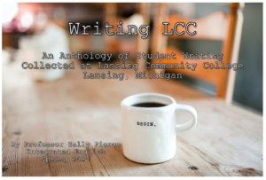 Writing LCC. Front cover of book.